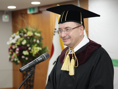 Conferment of Honorary Doctorate Degree to Dr. Nikolay M. Kropachev, the Rector of Saint Petersburg State University
